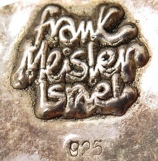 Frank Meisler Israel signature