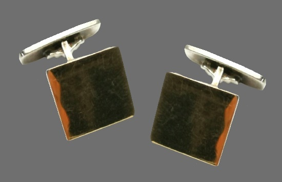 Gold plated sterling silver cufflinks