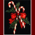 Christmas Candy Cane symbolic jewelry
