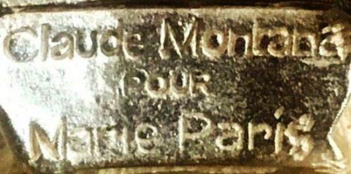 Signed Montana for Marie Paris