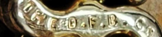 The D.F.B. Co marking