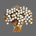 Signed Francois vintage costume jewelry