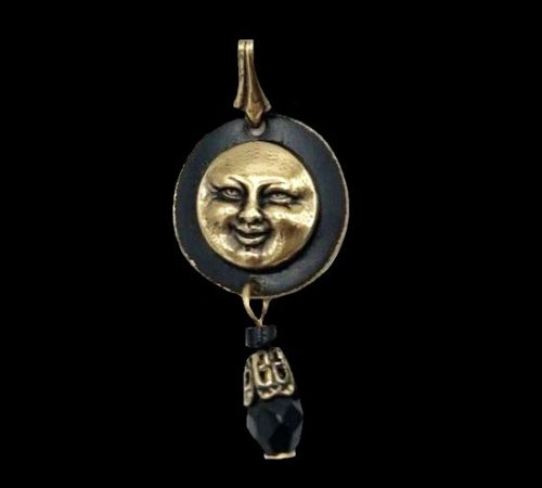 Sunshine gold tone pendant
