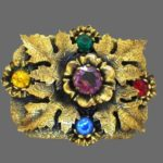 Gray Kingsburg vintage costume jewelry
