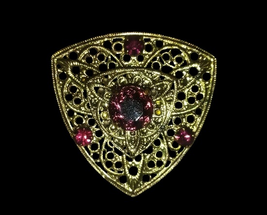 Signed Discovery vintage costume jewelry