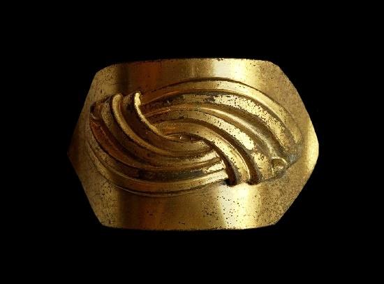 Brass dress clip