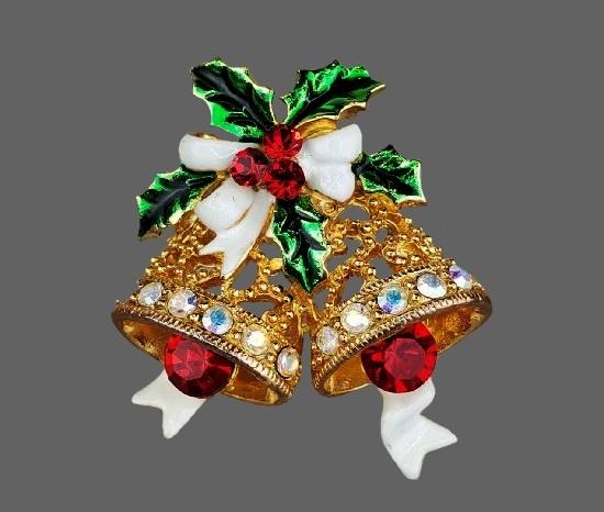Signed Janus vintage costume jewelry