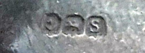 Anchor = Birmingham Walking Lion (Silver) used until 1999, C = 1917