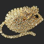 Signed L-S vintage costume jewelry