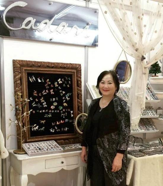 The owner of Cadari London Sunhwa Griffiths. 2016
